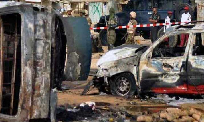 49 killed in nigeria twin blasts