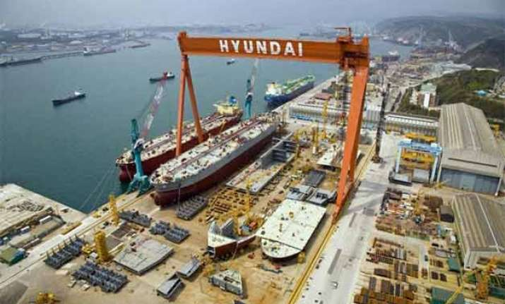 modi to visit hyundai shipyard