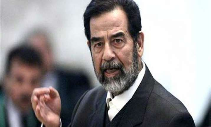 saddam hussein s tomb destroyed in assault on tikrit