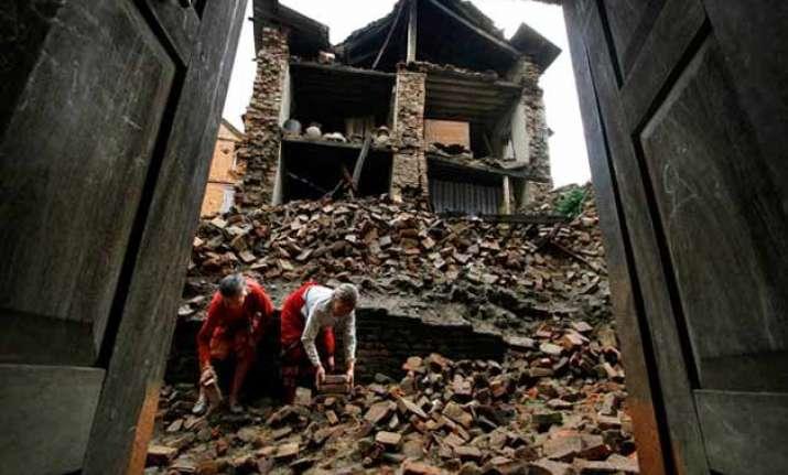post quake renovations begin in nepal toll nears 7 700