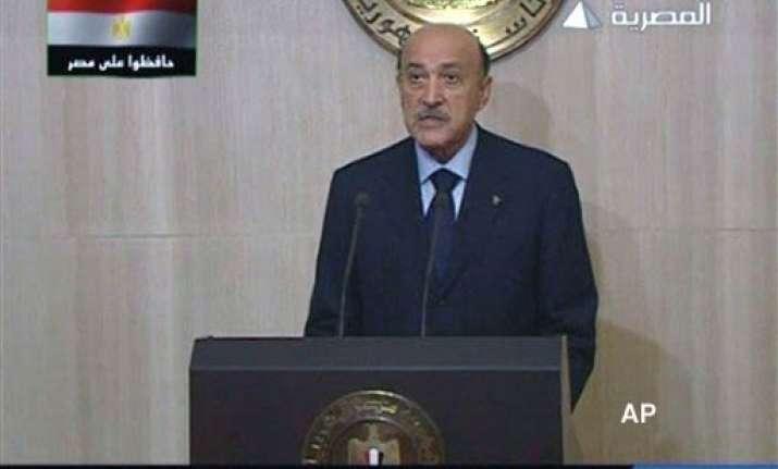 egyptian vice president survives assassination bid report