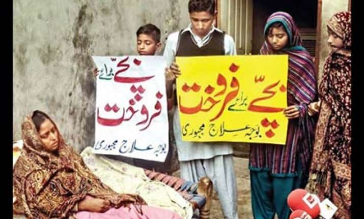 pakistani kids offer to sell themselves for mother s surgery