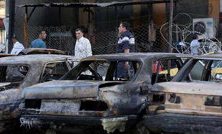 car bombs across iraq kill 56 wound dozens
