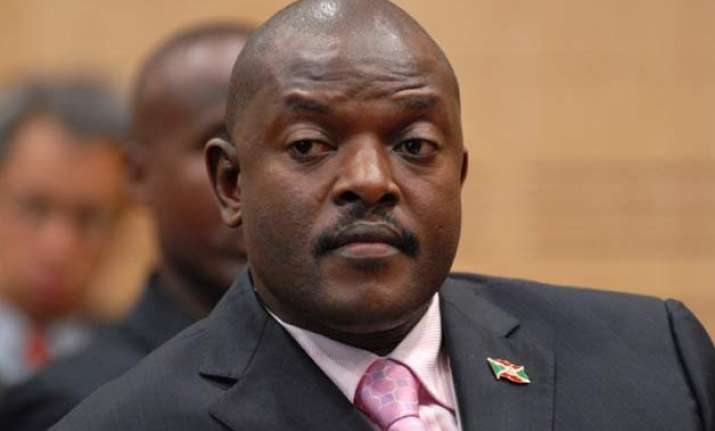 burundi president is ousted says army general