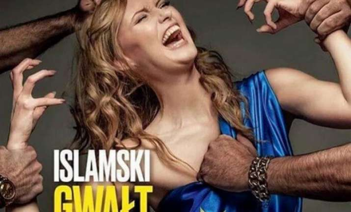 islamic rape of europe polish magazine s cover sparks