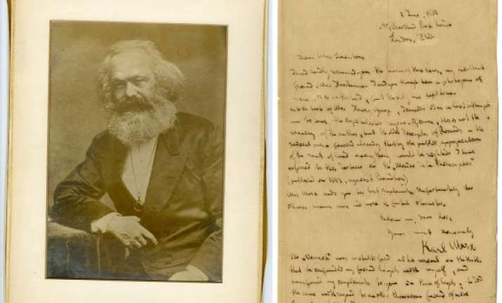 karl marx letter fetches usd 678 000 at china auction