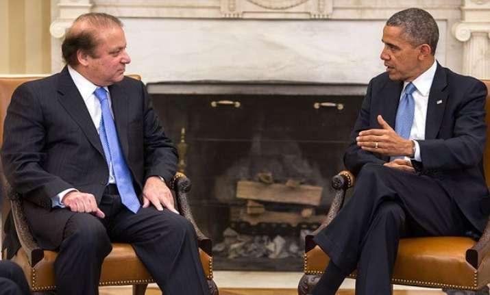 barack obama invites nawaz sharif to visit us