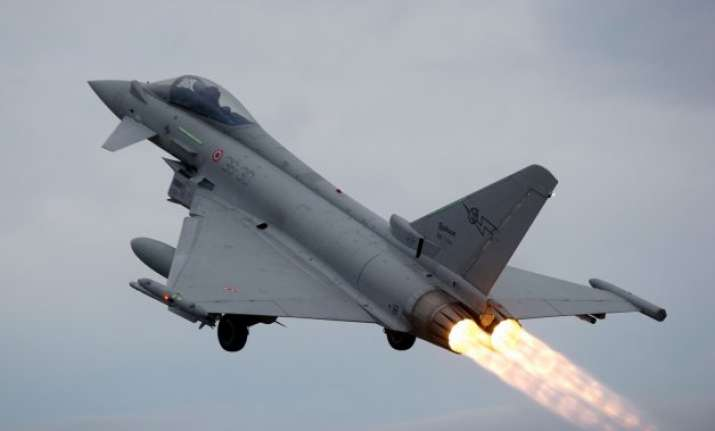 david cameron renews offer of eurofighter jets for india