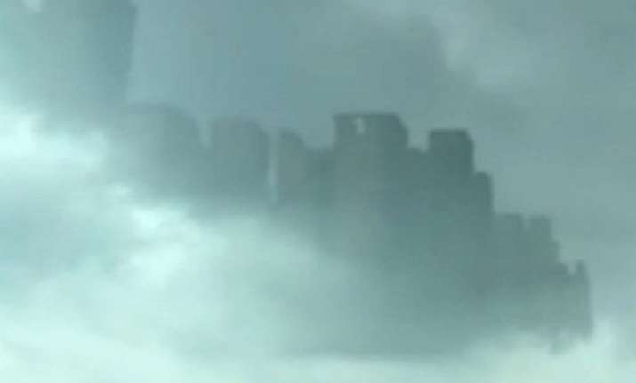 floating city spotted in sky over china watch video