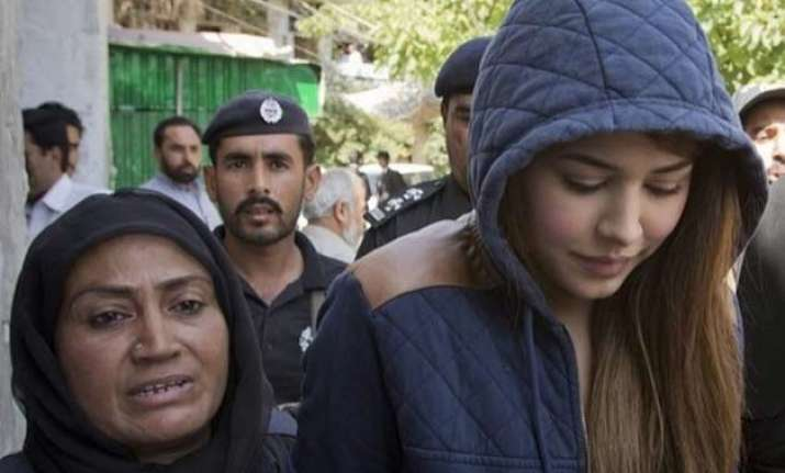 pakistani model ayaan ali freed from prison on bail