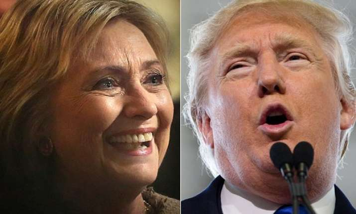 us primaries donald trump hillary clinton register big wins