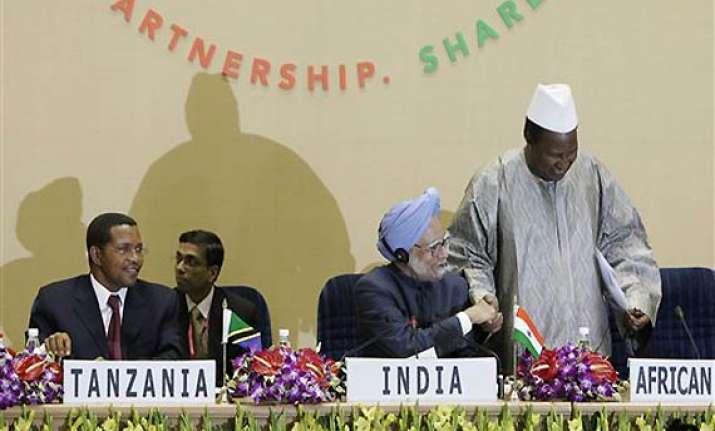 india announces 5 billion credit line for africa