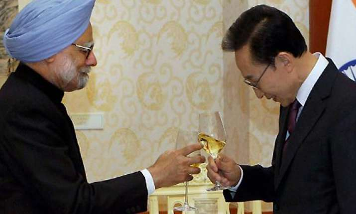 india s korea to boost political security trade ties