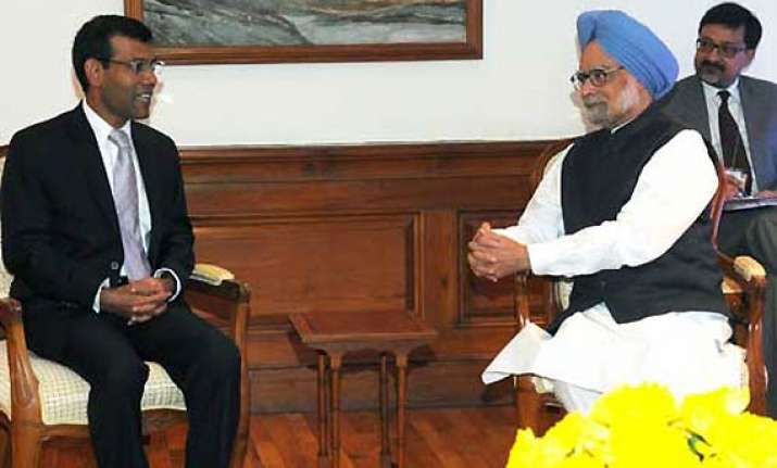 india to give 100 million credit to maldives