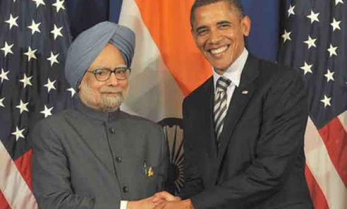 india big part of his plans barack obama tells manmohan