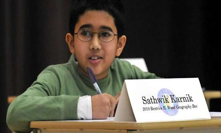 indian origin boy sathwik karnik wins national geographic