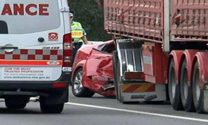 indian origin trucker crashes into car in australia kills