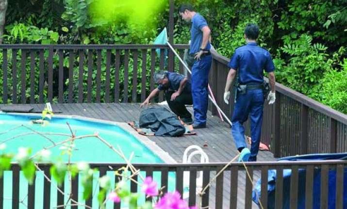 indian origin woman found dead in swimming pool