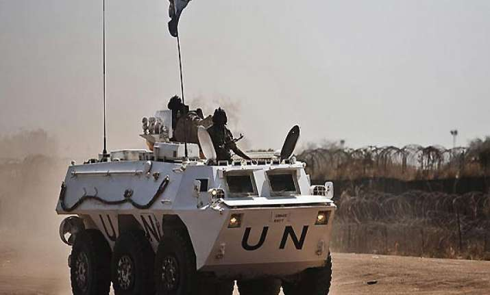 2 indian peacekeepers injured in attack on un base in south