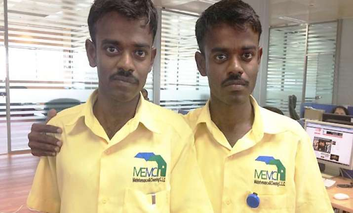 twins from tamil nadu working at dubai company confuse
