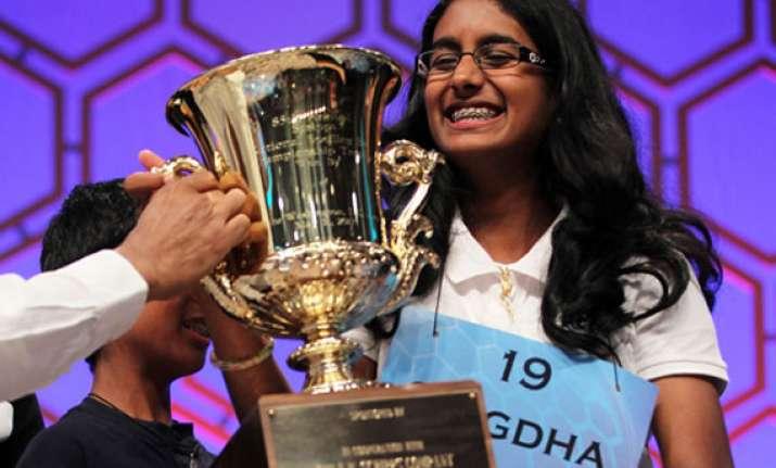 indian americans sweep national spelling bee