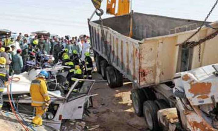 10 indians among 15 asian workers killed in dubai road