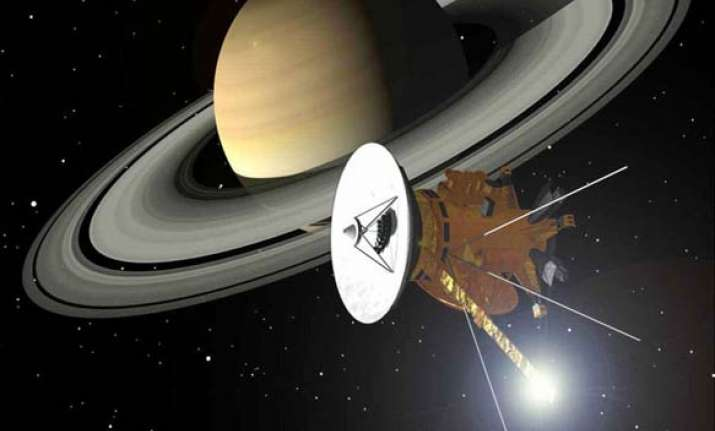 instrument aboard cassini orbiting saturn conks out