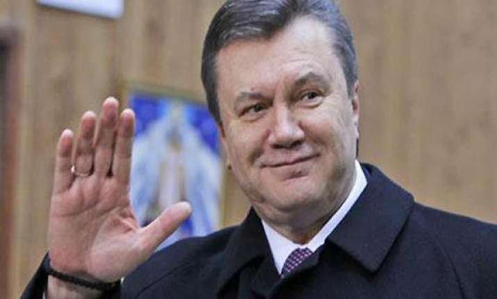 interpol gets request for ousted ukrainian president s