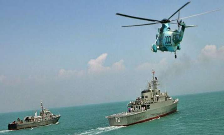 iran pakistan to hold joint naval drill