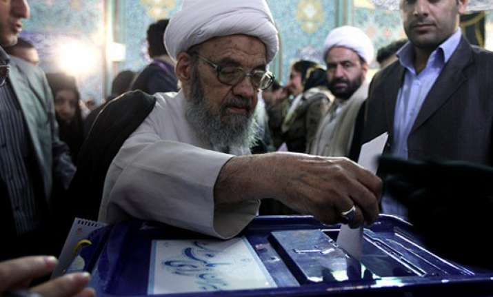 iran media report big turnout in elections