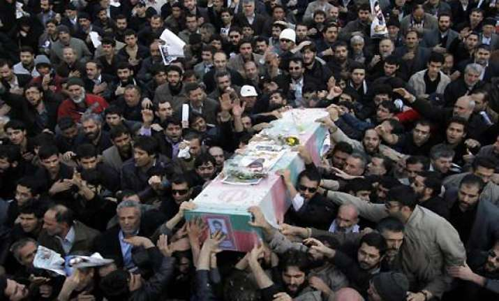 iran wants israel to be punished for scientist s death