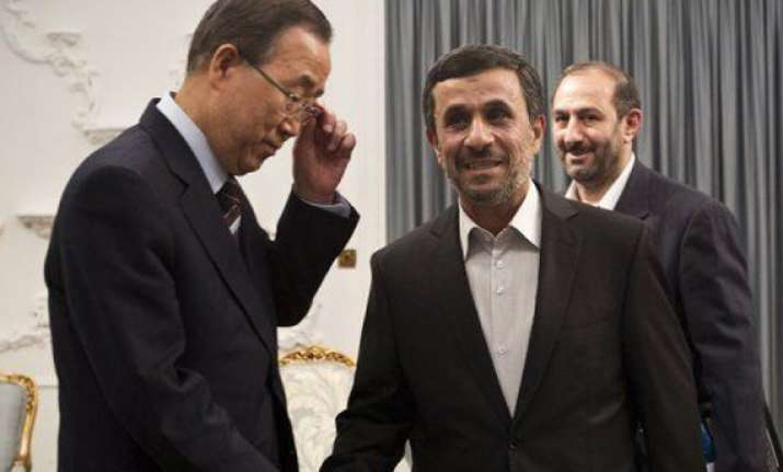 iran pressed on nuclear activities wraps up summit