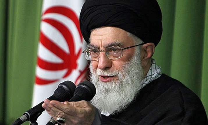iran s khamenei hails obama s damping down war talk