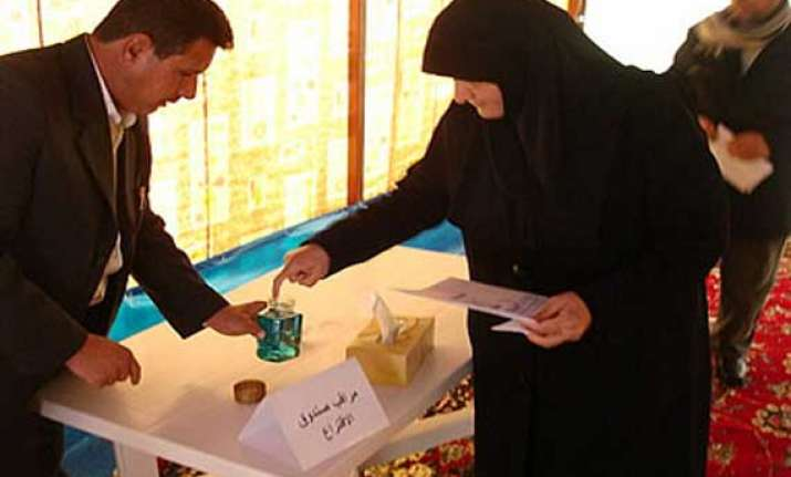 iraq s general elections scheduled for april 30