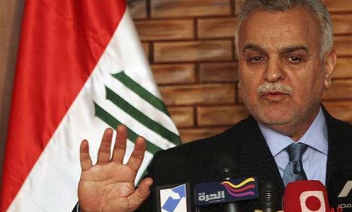 iraq issues arrest warrant for sunni vice president tariq