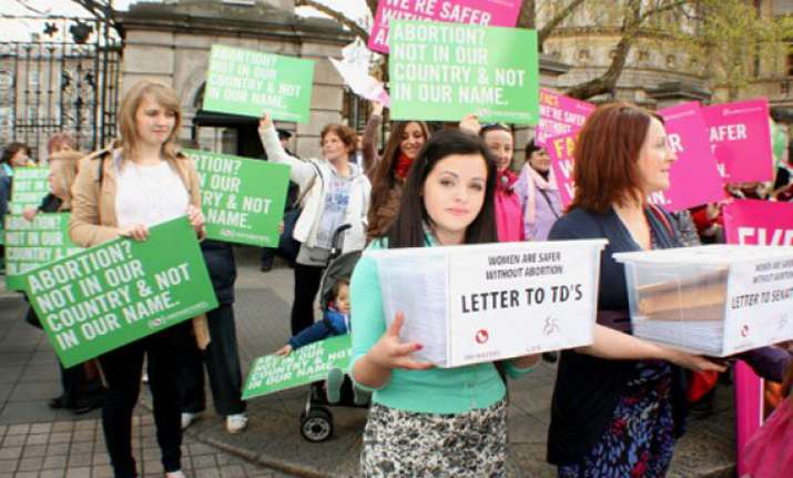 ireland to legalise abortion when mother s life is at risk