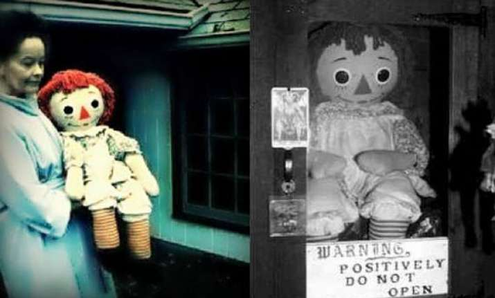 is annabelle doll really haunted yes say the superstitious