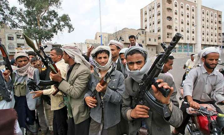 islamic militants seize several areas of a yemeni city