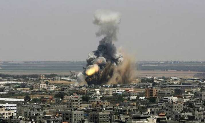israel gaza crisis 583 palestinians 27 idf soldiers killed