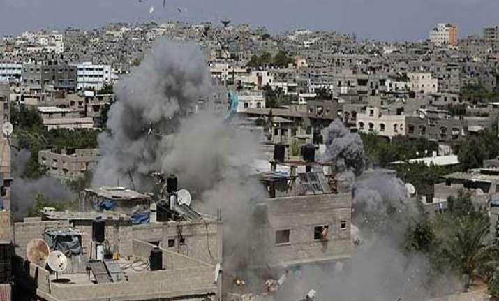 israel hits symbols of hamas rule death toll reaches 1 156