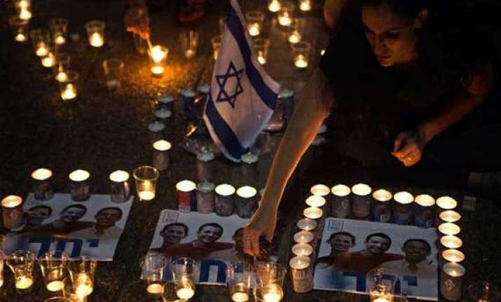 israel holds hamas responsible for teenagers killings