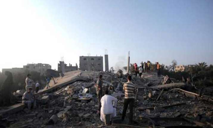 israel readies for ground offensive against hamas 12 killed