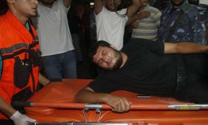 israel attacks palestinian territory 6 killed