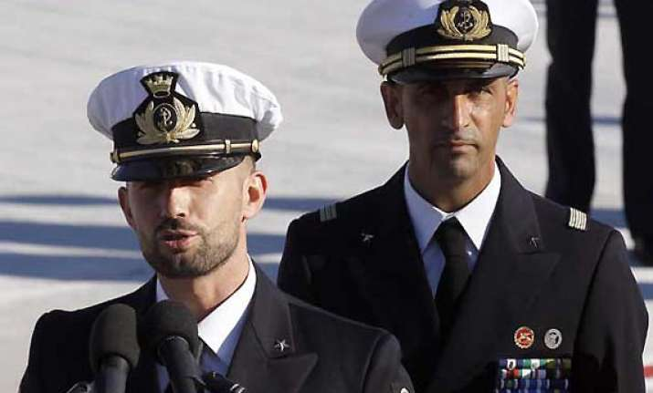 italy expected to raise marines issue with obama