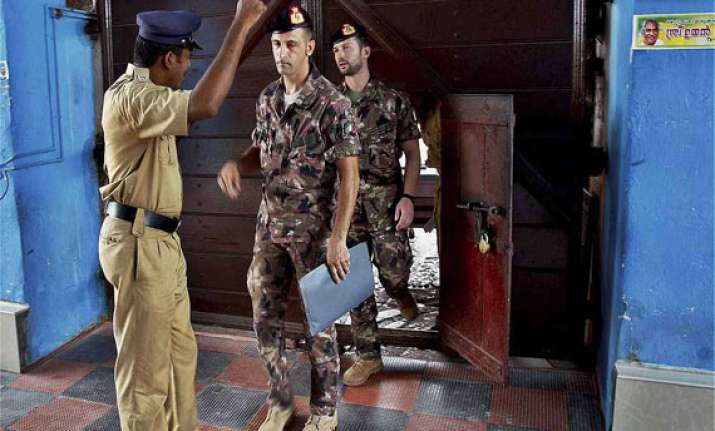 italy outraged over india s move to try marines under anti