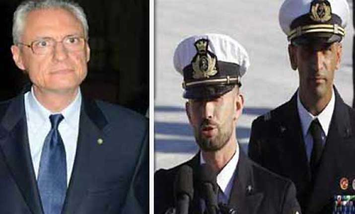italy recalls ambassador from india over marines case
