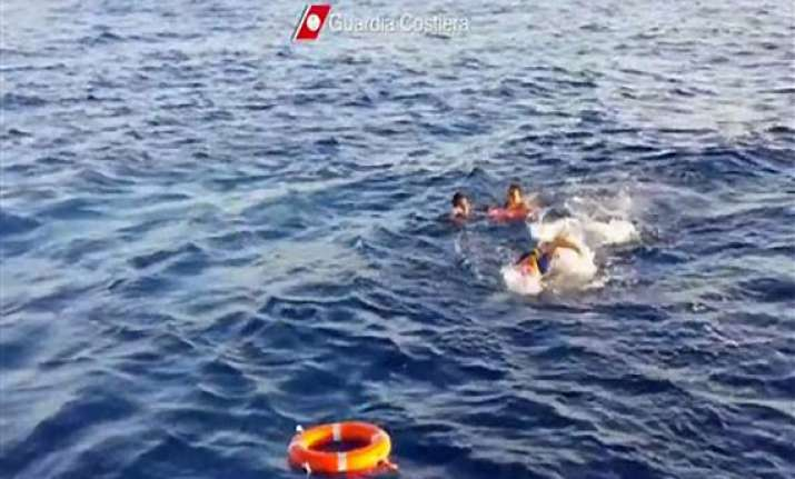 italy shipwreck tragedy migrants used empty water bottles