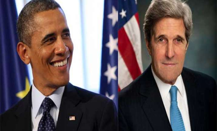 john kerry says obama to make decisions soon on iraq