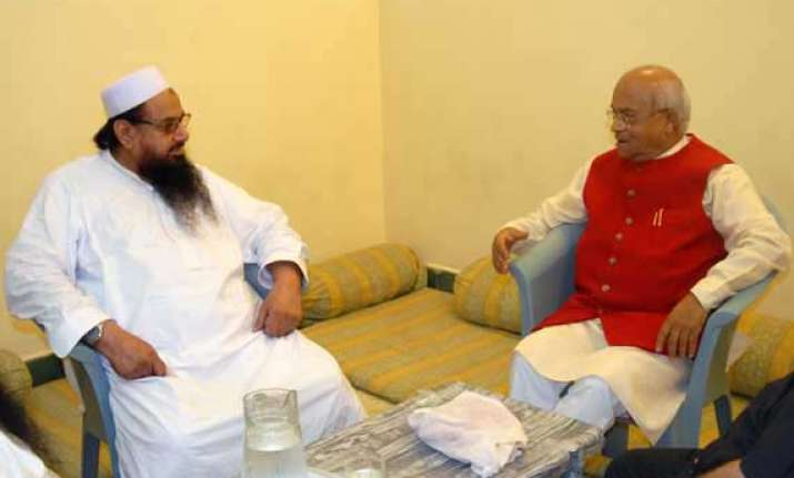 jud says saeed discussed indo pak issues with vaidik