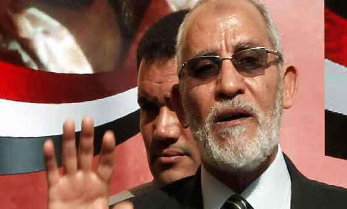 judges in egypt withdraw from muslim brotherhood chief